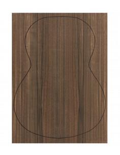 Back Green Ebony Outer Face 0,5 mm. + Green Ebony Inner Face (550x400x2,2/2,4 mm.)