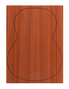 Back Padouk Outer Face 0,5 mm. + Sapele Inner Face (550x400x2,2/2,4 mm.)