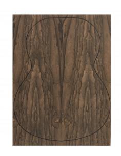 Fondo Cara Ziricote 0,6 mm. + Contra Ziricote (4 piezas) (550x400x2,2/2,4 mm.)