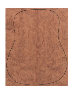 Fondo Cara Bubinga 0,5 mm. + Contra Bubinga (550x440x2,2/2,4 mm.)