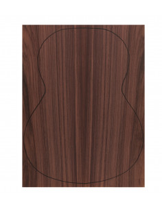 Back Indian Rswd. Outer Face 0,7 mm. + Sapele Inner Face (550x400x2,2/2,4 mm.)