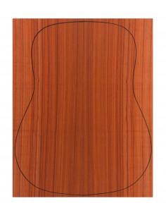 Fondo Cara Palo Rojo 0,5 mm. + Contra Padouk (550x440x2,2/2,4 mm.)