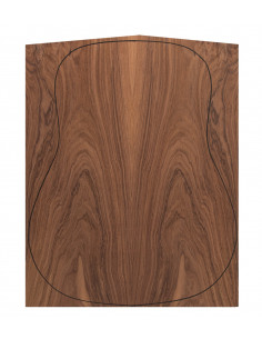 Back Santos Rswd. Outer Face 0,5 mm. + Sapele Inner Face (550x400x2,2/2,4 mm.)