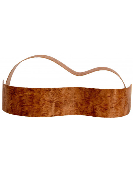 Sides Bubinga Outer Face 0,5 mm. + Sapele Inner Face (800x110x2,2/2,4 mm.)x2