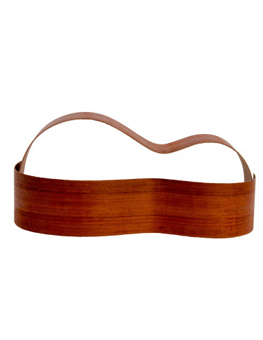 Sides Padouk Outer Face 0,5 mm. + Sapele Inner Face (800x110x2,2/2,4 mm.)x2
