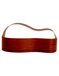 Sides Padouk Outer Face 0,5 mm. + Sapele Inner Face (825x125x2,2/2,4 mm.)x2