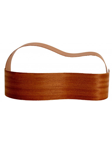 Sides Sapele Outer Face 0,6 mm. + Sapele Inner Face (825x125x2,2/2,4 mm.)x2