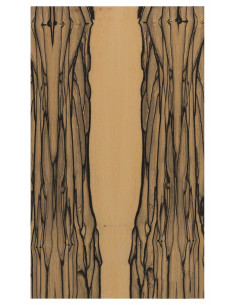 Flamenco Cajon Side Board Asian Ebony 0,5 mm. + Phenolic Birch 9 mm.