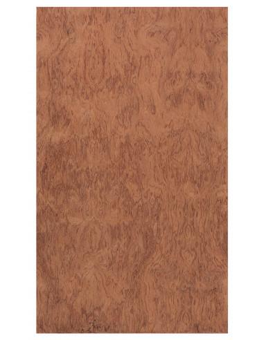 Back Board Curly Bubinga 0,5 mm. + Phenolic Birch 9 mm.