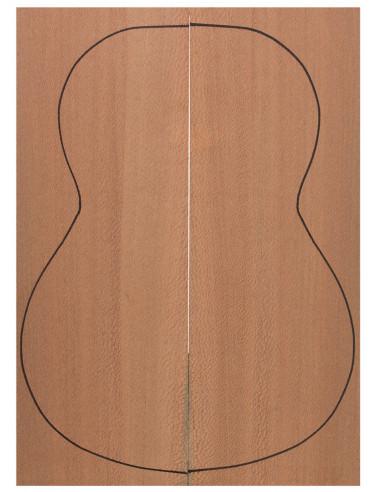Strd. Brazilian Lacewood Backs (550x200x4 mm)x2