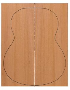 Mahogany Classic Guitar Backs