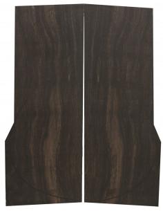 A Exotic Ebony Back (550x200x4 mm.)x2