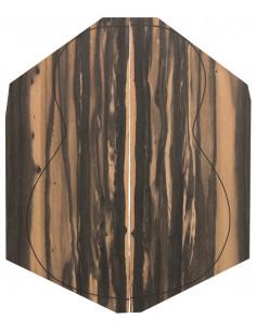 AA Exotic African Ebony Back (550x200x4 mm)x2