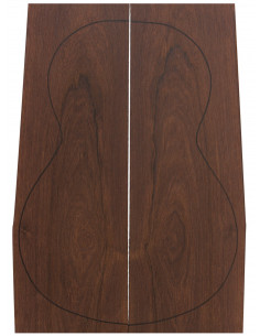 Tight Madagascar Rosewood Backs (500/550x170/190x4 mm)