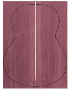 Fondos Purple Heart (550x200x4 mm)x2