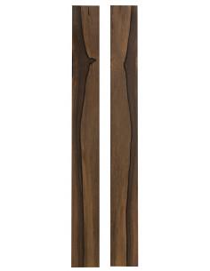 AAA Exotic Afraican Ebony Sides (800x110x3,5 mm)x2