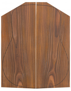 AA Cocobolo Backs (550/570x215/230x4,5 mm)x2 (CITES)