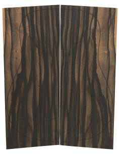 Pinhole Ebony Backs (550x215x4,5 mm.)x2