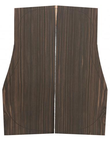 Makassar Ebony Backs (550x215x4,5 mm)x2