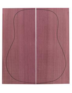 Purple Heart Backs (550x215x4,5 mm)x2