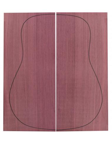 Fondo Purple Heart (550x215x4,5 mm)x2