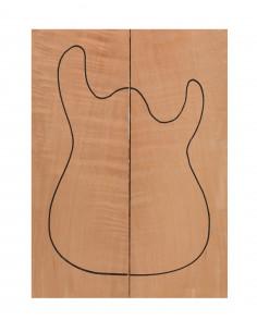 Cuerpo Cedro Honduras Guitarra / Bajo Eléctrico
