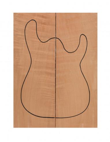 Honduras Cedar Body (CITES) (550x200x50mm)x2