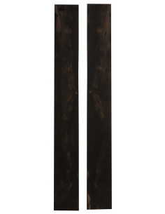 FSC 100% Exotic Ebony Sides (825/860x125/140x4 mm)x2