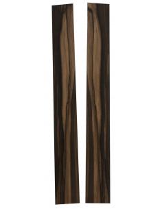 Pinhole 100% FSC Ebony Sides (825x125x4 mm)x2