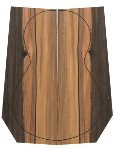 Tight 100% FSC Ebony Backs (550x200x4 mm.)x2