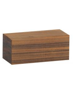 Santos Rosewood piece 80x37x37 mm