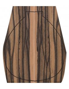 Fondos Ébano Exótico (400x160x4mm)x2
