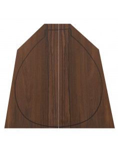 Madagascar Rosewood Bandurria Backs