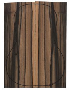 Exotic Ebony Backs (360x130x4mm)x2