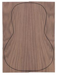European Walnut Backs (360x130x4 mm)x2