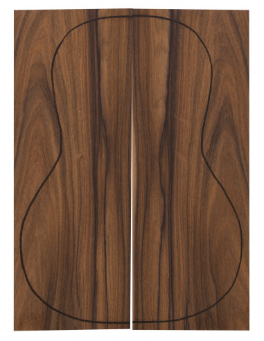 Santos Rosewood Backs (360x130x4 mm)x2
