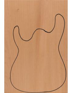 Body Cedro honduras (CITES) 550x380x50mm
