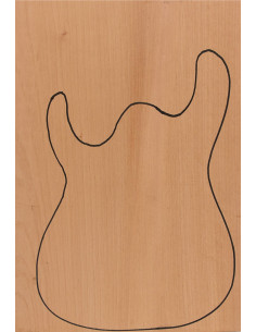 Honduras Cedar Body (CITES) 550x380x50mm