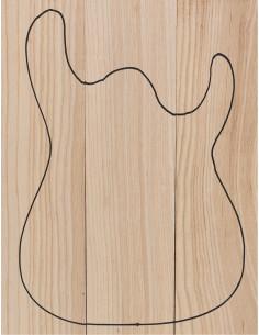 Swamp Ash Asymetric Body (550x130x50 mm)x3