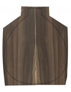 Ziricote Backs (460x180x4 mm)x2
