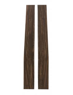 Ziricote  Tight Sides  (750/800x170/190x4mm)x2