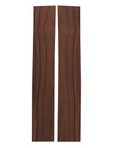 Madagascar Rosewood Sides(CITES) (380x60x3 mm)x2