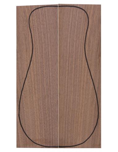 European Walnut Backs (320x90x3 mm)x2