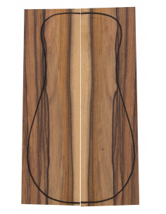 Santos Rosewood Backs (320x90x3 mm)x2