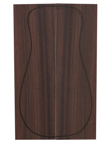 Santos Rosewood Back (320x90x3 mm)x2