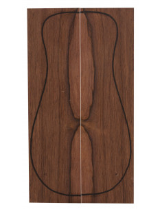 Madagascar Rosewood Backs (CITES) (320x90x3 mm)x2