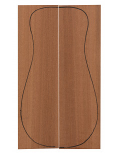 Sapele Backs (320x90x3 mm)x2