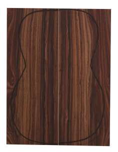 Cocobolo Backs (CITES) (255x90x3mm)x2