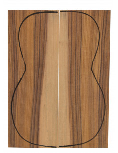 Santos Rosewood Backs (255x90x3mm)x2