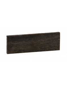 FSC 100% A African Ebony Bridge (181x58x12 mm)